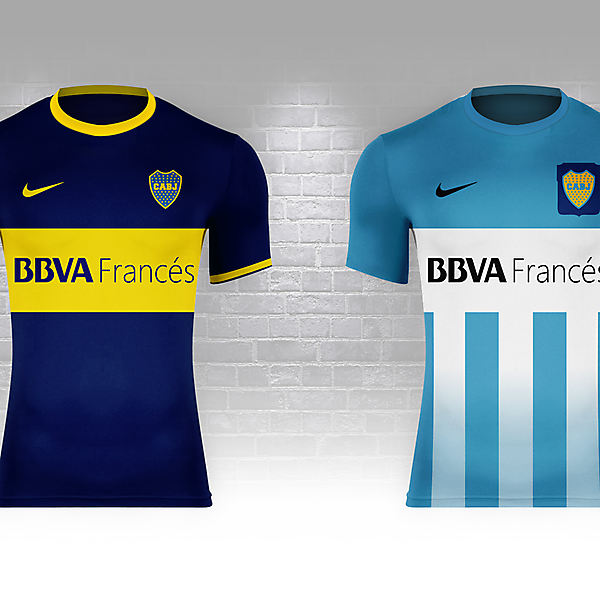 Boca Juniors as Argentina (Fantasy Nike World Cup Campaign)