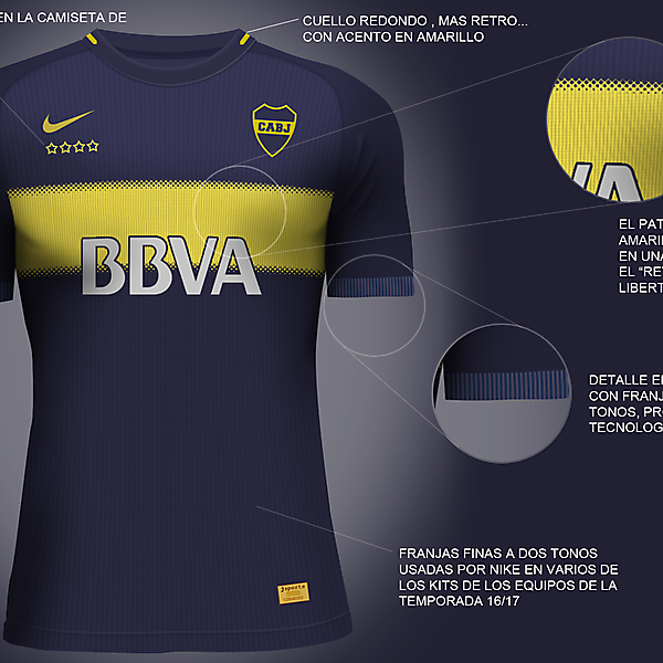 Boca Juniors Nike Vapor Aeroswift