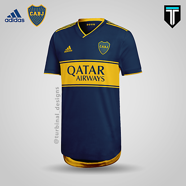 Boca Juniors x Adidas - Home Kit