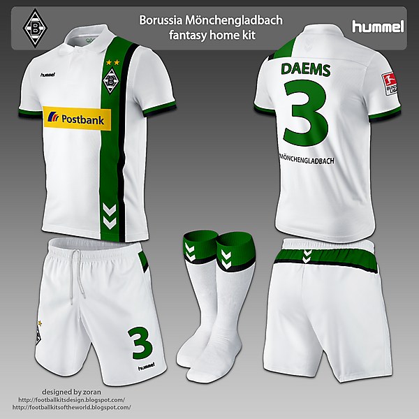 Borussia Monchengladbach home and away