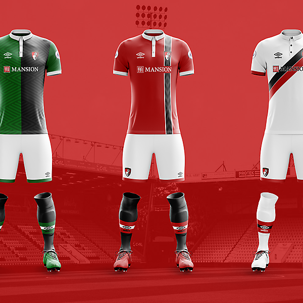 Bournemouth x Umbro Concepts