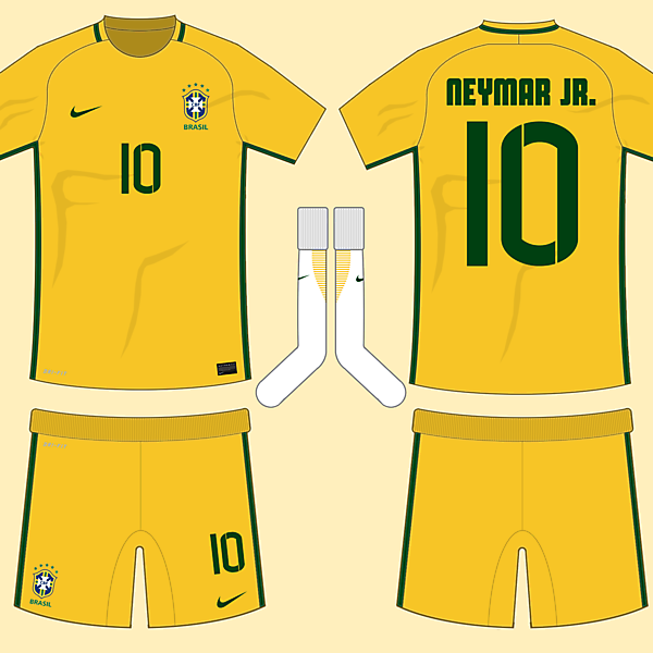 Brazil 2016-17 Home Kit (based on leaks)