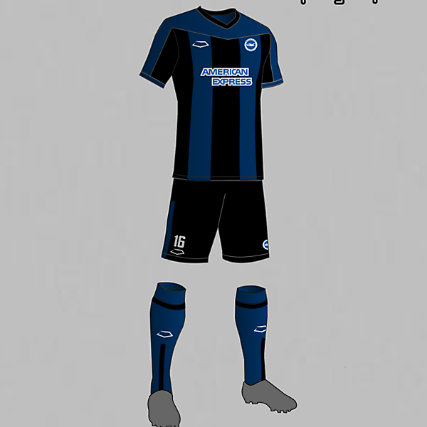 Brighton & Hove Albion (England) Away Kit 2016