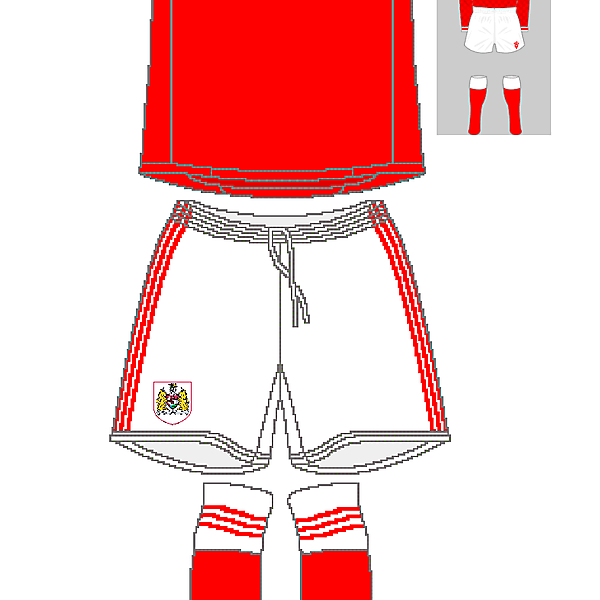 Bristol City Adidas Home