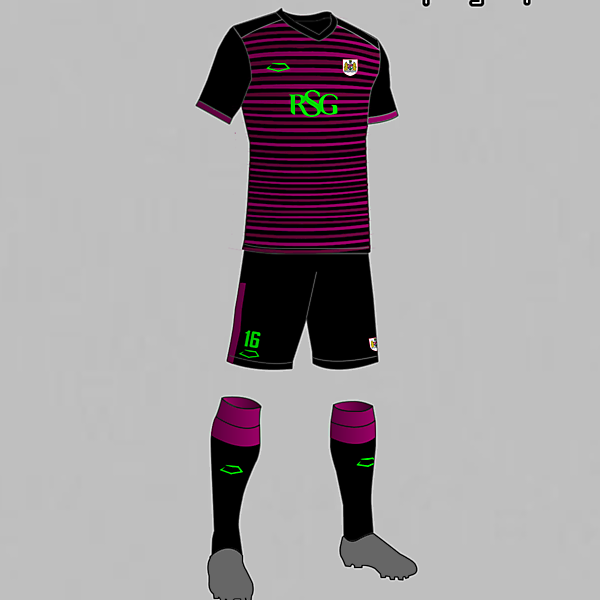 Bristol City (England) Away Kit 2016