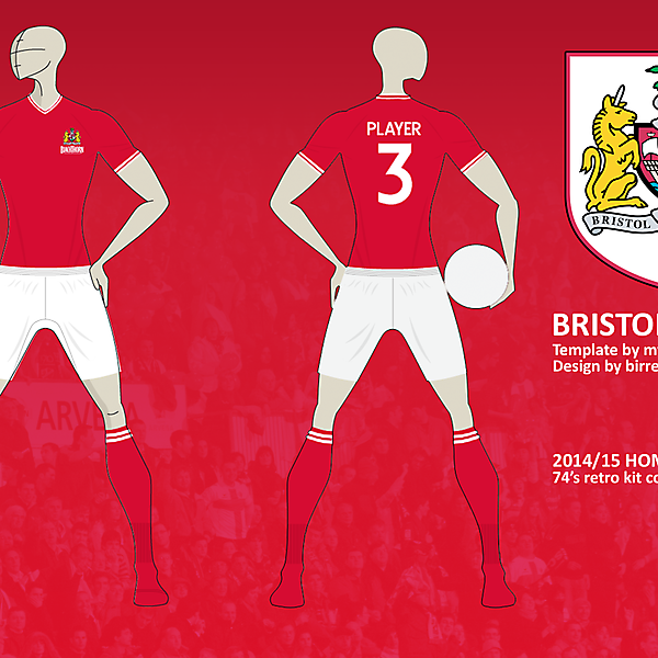 Bristol City FC Home Kit