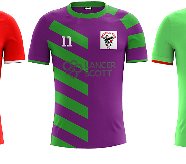 Bristol City Home/Away/Alternate