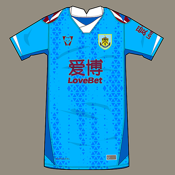 Burnley - away concept