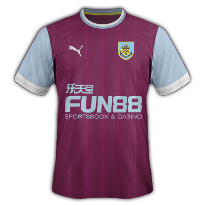 Burnley Home Kit 15/16