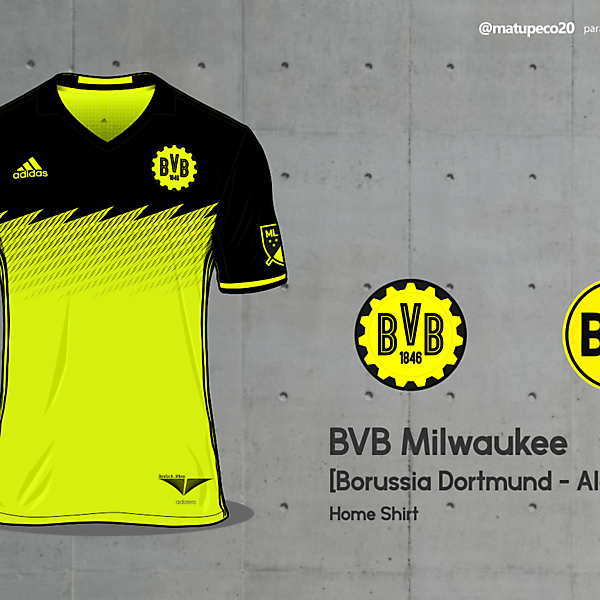 BVB Milwaukee - MLS Foreign Invasion