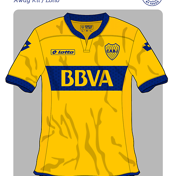 C.A. Boca Jrs Lotto Away