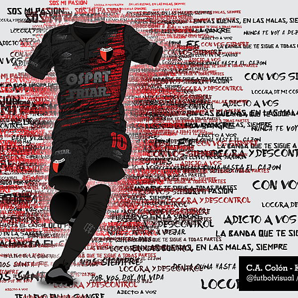 C.A. Colón Special Kit - Supporter's phrases