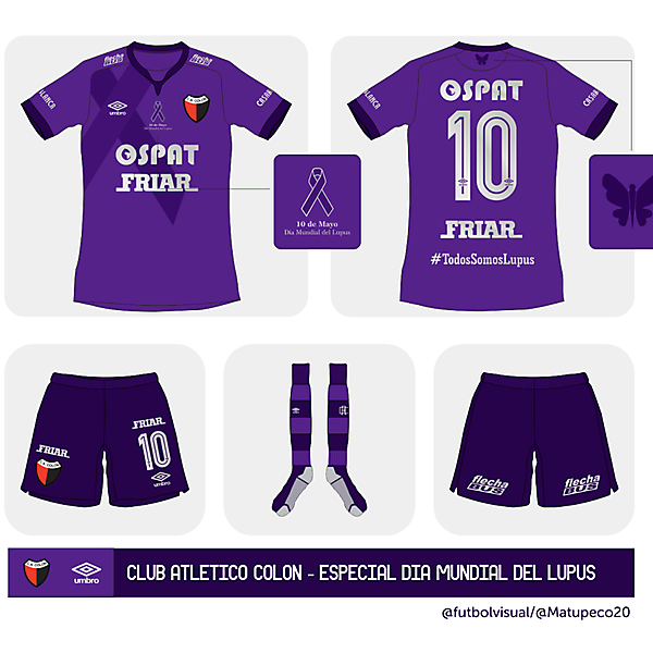 C.A. Colón Special Kit - World Lupus Day