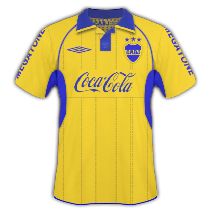Boca Juniors Away + Umbro