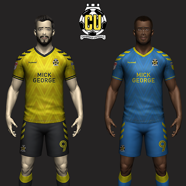 Cambridge United Concept