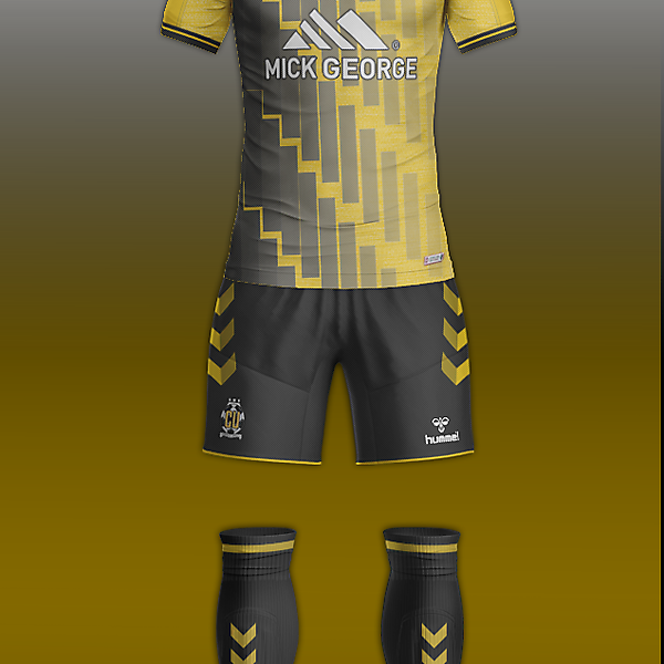 Cambridge Utd & Hummel concept home kit