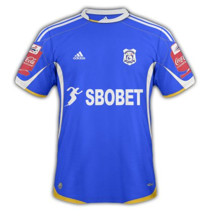 Cardiff City Home kit