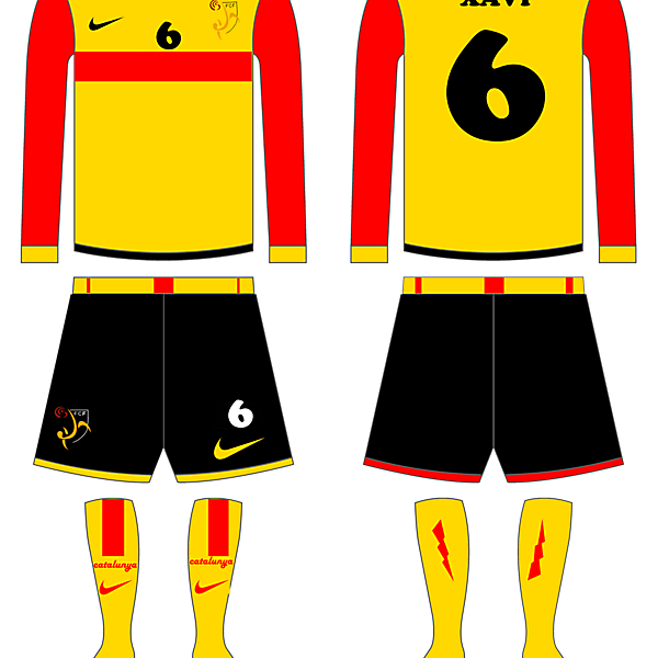 Catalunya Home kit fantasy
