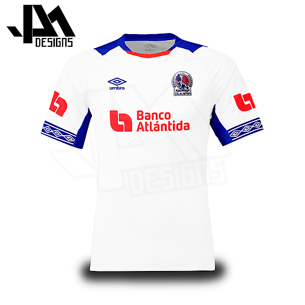CD Olimpia (Honduras) Umbro Concept Kit