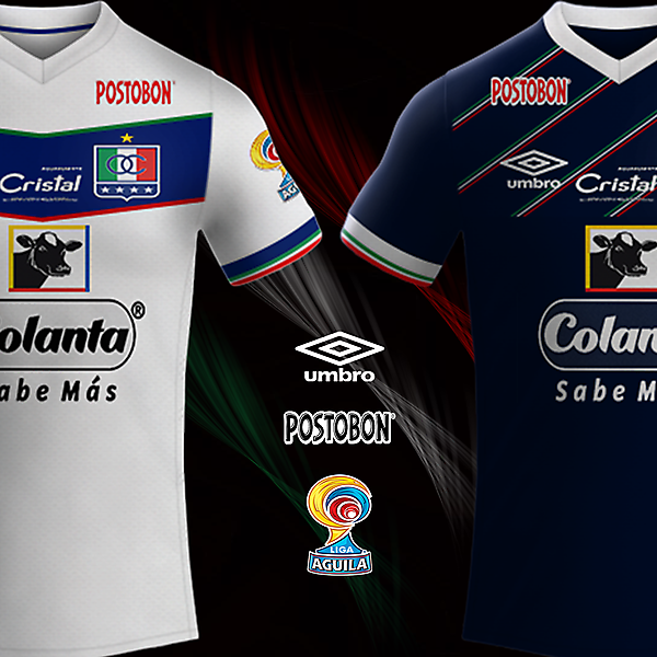 CD Once Caldas Umbro Kits
