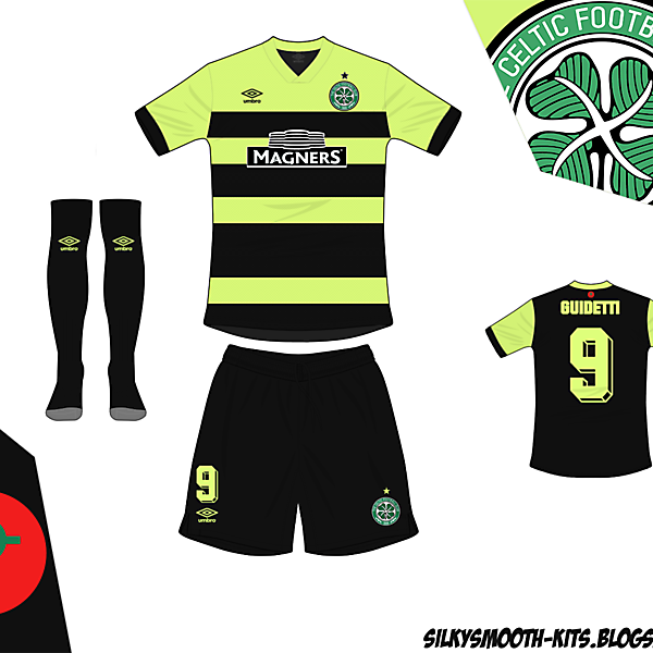 Celtic Away Umbro