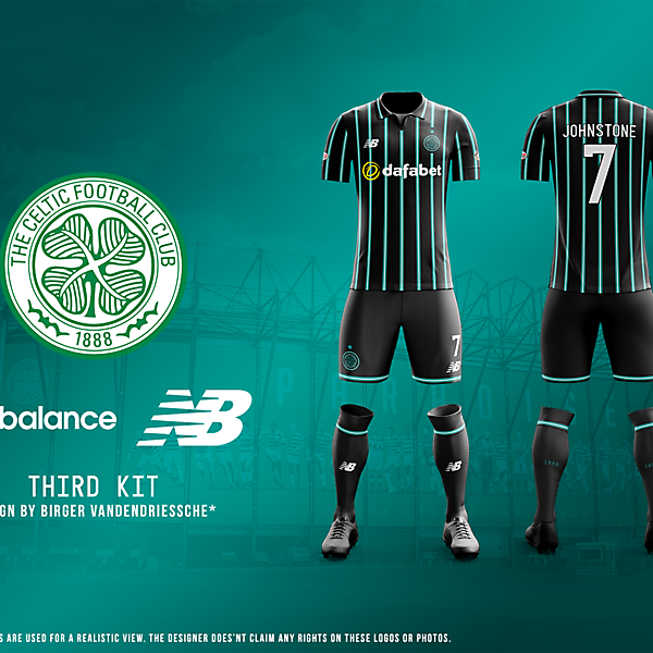 Celtic FC - Fantasy Football Kit (THIRD)