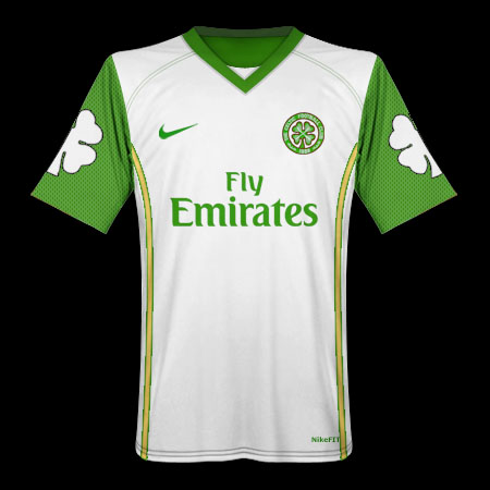 Celtic Nike Shamrock Away