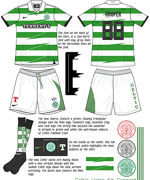Celtic Home kit Concept