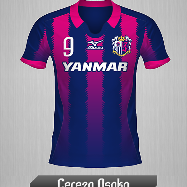 Cerezo Osaka, Home Shirt.
