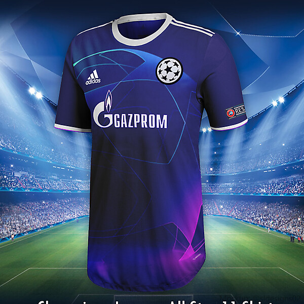 Champions League All Star 11 Shirt Concept