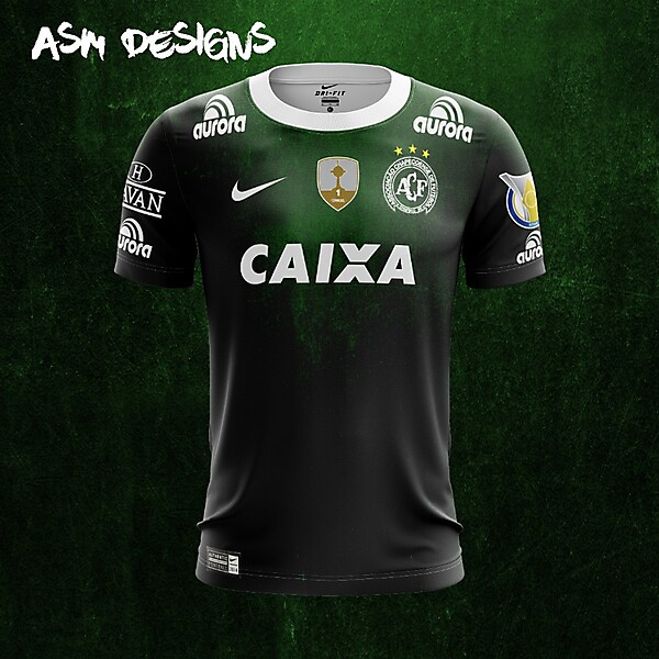 Chapecoense  Nike 2018 Home Kit