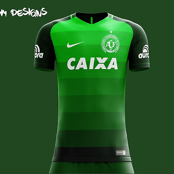 Chapecoense  Nike  Home Kit