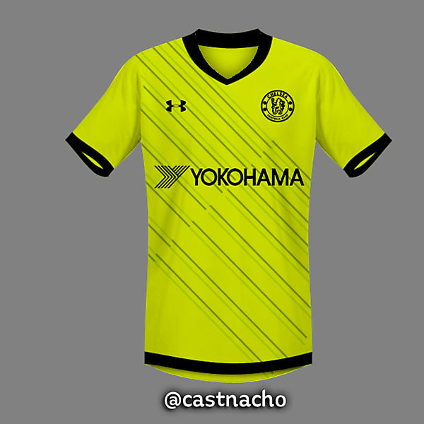 Chelsea FC Under Armour Home Third Kit