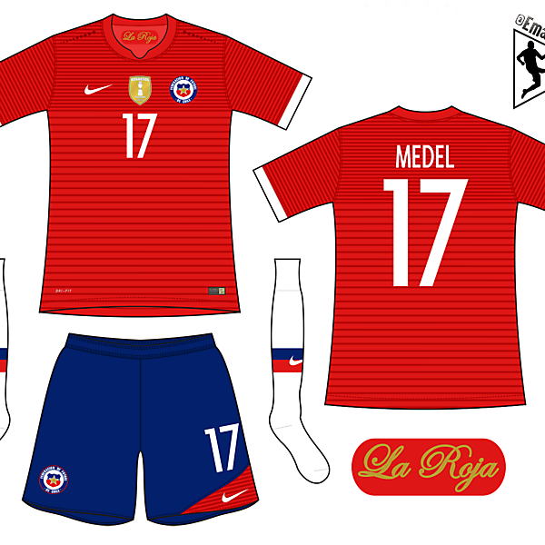 Chile - Home kit