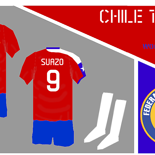Chile 1st Kit