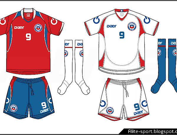 Chile Daer Home and Away Kits