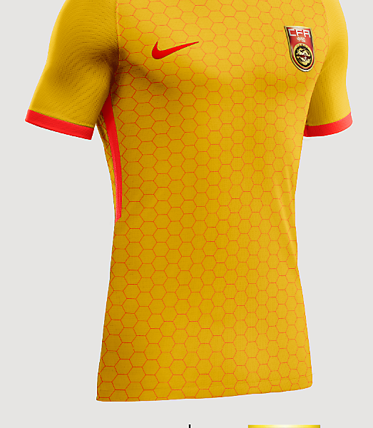 China Away shirt