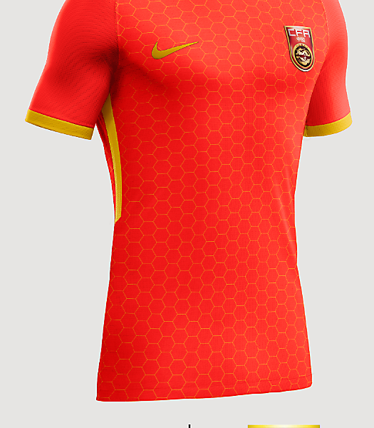 China Home shirt