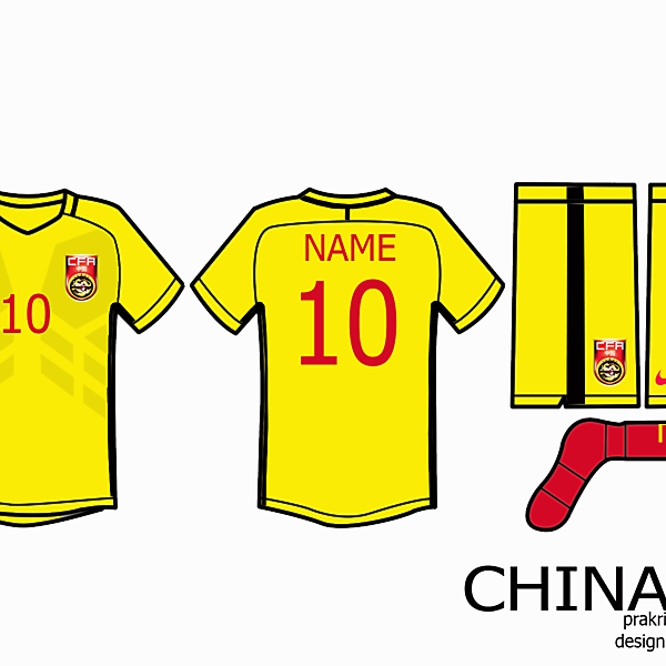 China Kit Away 2016