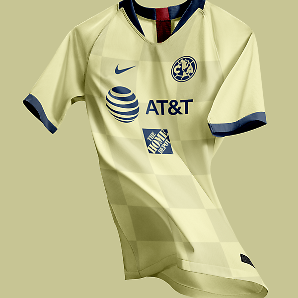 Club America 2021 Nike Home Kit