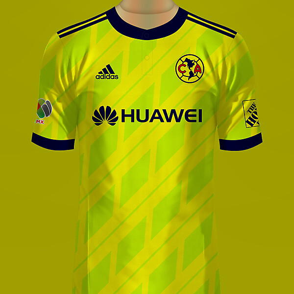 Club América de México Local Jersey Adidas