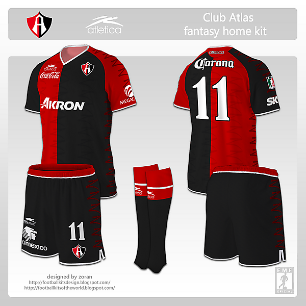 Club Atlas fantasy home