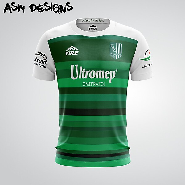 Club Atlético Zacatepec YIRE 2018 Home Kit
