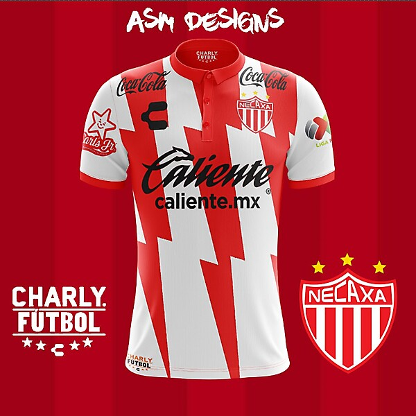 Club Necaxa Charly 2018 Home Kit