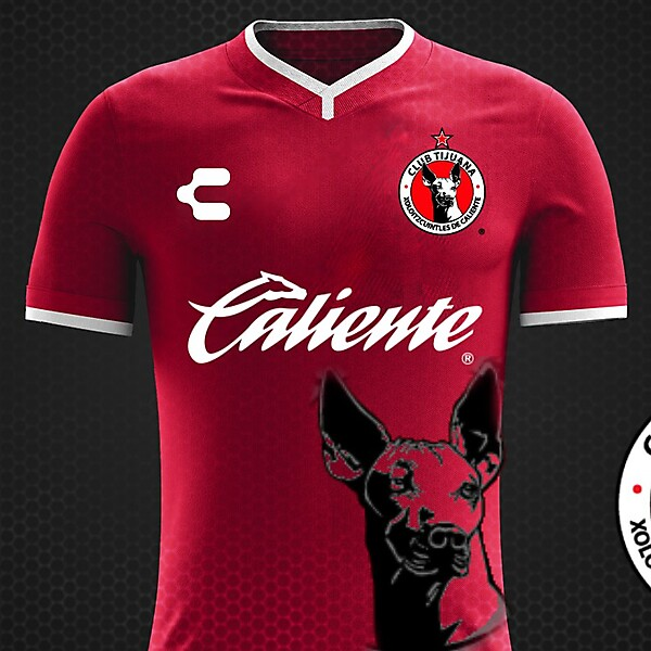 Club Tijuana 17/18 Kit Charly
