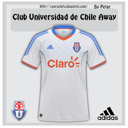 Club Universidad de Chile Away