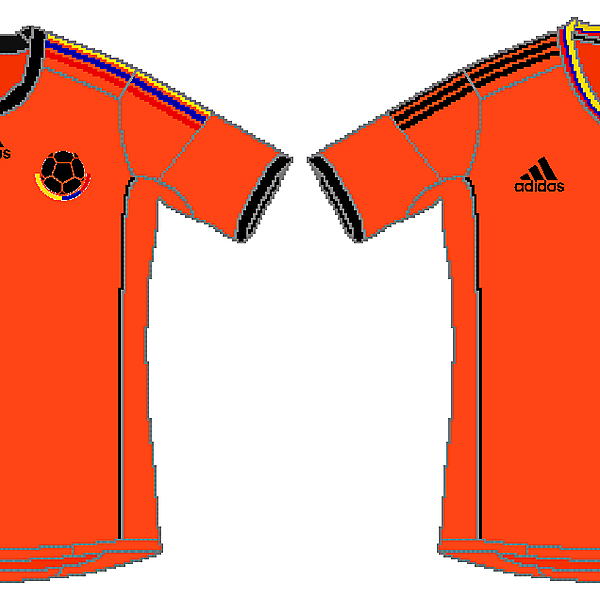 Colombia Adidas Orange Kit
