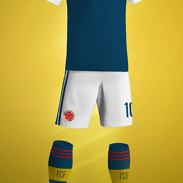 Columbia Away Kit Design