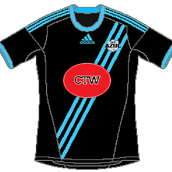 Connecticut FC Azul Adidas Home