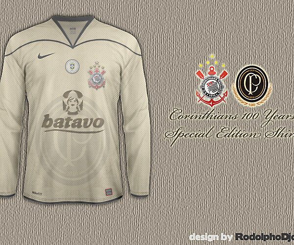 Corinthians Special Edition Shirt 100 Years - 2010